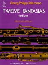 TELEMANN - 12 Fantasias - Solo Flute - Sheet Music - di-arezzo.co.uk