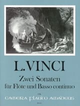 2 Sonaten Leonardo Vinci Partition laflutedepan.com