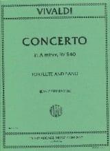 Concerto in A minor F. 6 n° 7 - Flute piano laflutedepan.com