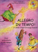 Virgine THARAUD et Anne-Violaine SZABADOS - Allegro in Tempo - Sheet Music - di-arezzo.co.uk