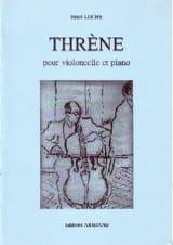 Henri Loche - Thrène - Partition - di-arezzo.fr