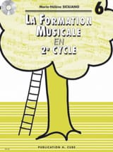 SICILIANO - La Formation Musicale en 2ème Cycle - Volume 6 - Sheet Music - di-arezzo.com