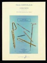 Concerto - Flûte et piano Odette Gartenlaub Partition laflutedepan.com