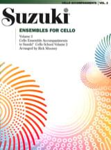Ensembles for Cello - Volume 2 Suzuki Partition laflutedepan.com