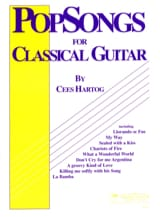 Cees Hartog - Pop Songs for Classical Guitar Volume 1 - Sheet Music - di-arezzo.com
