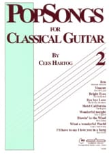 Cees Hartog - Pop Songs For Classical Guitar Volume 2 - Sheet Music - di-arezzo.com