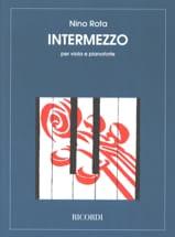 Intermezzo - Nino Rota - Partition - Alto - laflutedepan.com