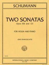 2 Sonatas op. 105 and op. 121 SCHUMANN Partition laflutedepan.com