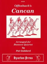 The Cancan Jacques Offenbach Partition Basson - laflutedepan.com