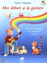 Mes Débuts à la Guitare - Francis Kleynjans - laflutedepan.com