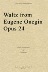 TCHAIKOVSKY - Waltz From Eugene Onegin Opus 24 - Partition - di-arezzo.fr