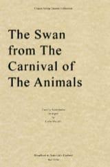 The Swan - String Quartet SAINT-SAËNS Partition laflutedepan