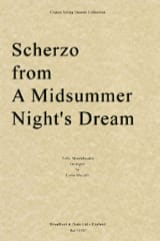 MENDELSSOHN - Scherzo from A midsummer night's dream - String Quartet - Partition - di-arezzo.fr