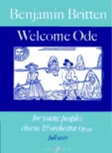 Welcome Ode Op. 95 – Young People's Chorus And Orchestra - laflutedepan.com