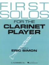 First Solos for the clarinet player Eric Simon laflutedepan.com