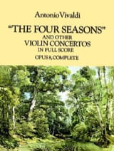 VIVALDI - The Four Seasons y otros conciertos para violín - Partitura - di-arezzo.es