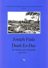 Joseph Fiala - Duett Es-Dur op. 4 n° 3 - Partition - di-arezzo.fr