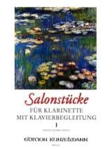 Fritz-Georg Hölÿ - Salonstücke Heft 1 –Klarinette Klavier - Partition - di-arezzo.fr
