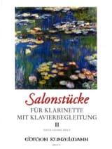 Fritz-Georg Hölÿ - Salonstücke Heft 2 –Klarinette Klavier - Partition - di-arezzo.fr