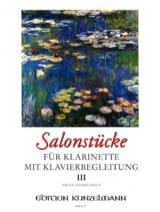 Fritz-Georg Hölÿ - Salonstücke Heft 3 –Klarinette Klavier - Partition - di-arezzo.fr