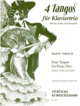 4 Tangos For Piano Trio, Volume 2 laflutedepan.com