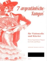 7 Tangos argentins Werner Thomas-Mifune Partition laflutedepan.com