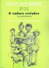 Alain Vérité - 6 Valses créoles - Partition - di-arezzo.fr