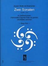 2 Sonates : op. 26 n° 1 et 2 BOISMORTIER Partition laflutedepan.com