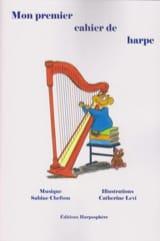 Mon Premier Cahier de Harpe Sabine Chefson Partition laflutedepan.com