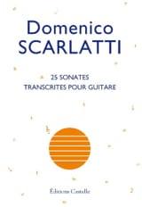 25 Sonates Domenico Scarlatti Partition Guitare - laflutedepan.com