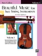 Samuel Applebaum - Beautiful Music, Volume 1 - 2 Cellos - Partition - di-arezzo.fr