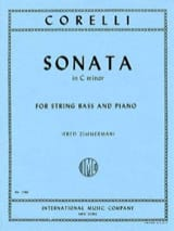 Sonata in C minor – String bass Arcangelo Corelli laflutedepan.com
