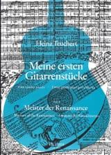 Heinz Teuchert - Meine Ersten Gitarrenstucke- Heft 3: Meister Der Renaissance - Partition - di-arezzo.fr