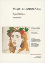 Mikis Theodorakis - Zorbas - Full Score - Partition - di-arezzo.fr