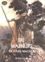 La Walkyrie Richard Wagner Partition Grand format - laflutedepan.com
