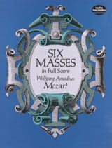 6 Messes - Full Score MOZART Partition Grand format - laflutedepan.com