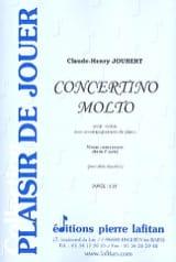 Claude-Henry Joubert - Concertino Molto - Partition - di-arezzo.fr