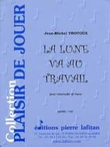 La Lune Va au Travail Jean-Michel Trotoux Partition laflutedepan.com