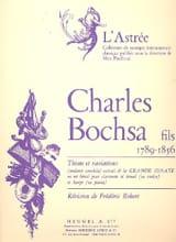 Thème et variations - Charles Bochsa - Partition - laflutedepan.com