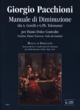 Manuale di diminuzione - Giorgio Pacchioni - laflutedepan.com