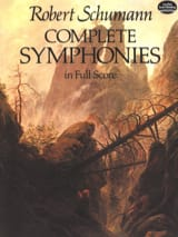 Complete Symphonies - Full Score SCHUMANN Partition laflutedepan.com