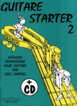 Cees Hartog - Guitar starter - Volume 2 - Partition - di-arezzo.fr