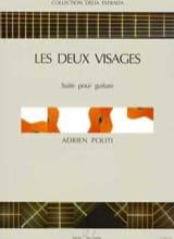 Adrien Politi - Les deux visages - Partition - di-arezzo.fr