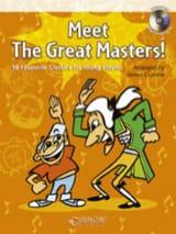 Meet the Great Masters ! –Clarinet - James Curnow - laflutedepan.com