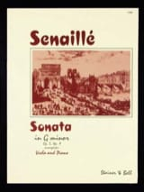 Sonate in G minor, op. 5 n° 9 Jean-Baptiste Senaillé laflutedepan