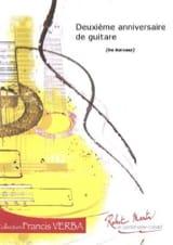 2ème Anniversaire de guitare José-Luis Narvaez Partition laflutedepan