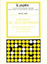 Sonates op. 91 - Flûte clavecin BOISMORTIER Partition laflutedepan.com