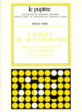 Joseph Bodin de Boismortier - Sonates op. 91 – Flûte clavecin - Partition - di-arezzo.fr