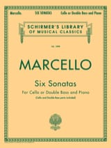Benedetto Marcello - 6 Sonatas - Sheet Music - di-arezzo.co.uk