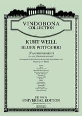 Kurt Weill - Blues-Potpourri -Salonorchester - Partition - di-arezzo.fr